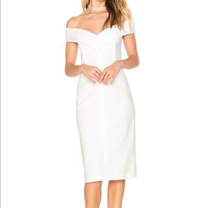 Alice & Olivia Luana White Dress 2